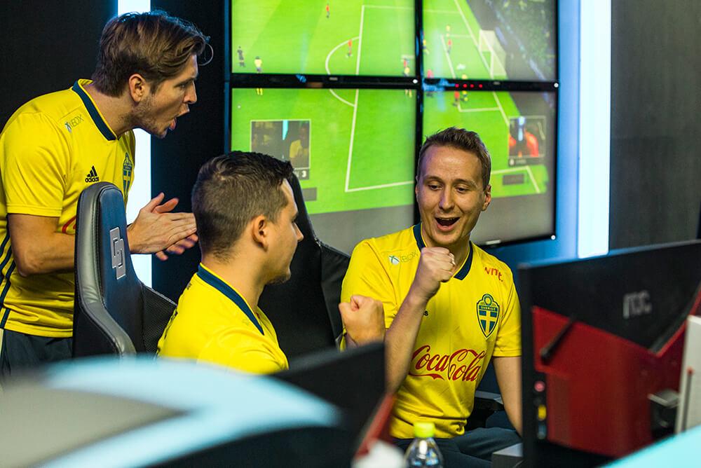 Sverige tog tung seger mot Spanien