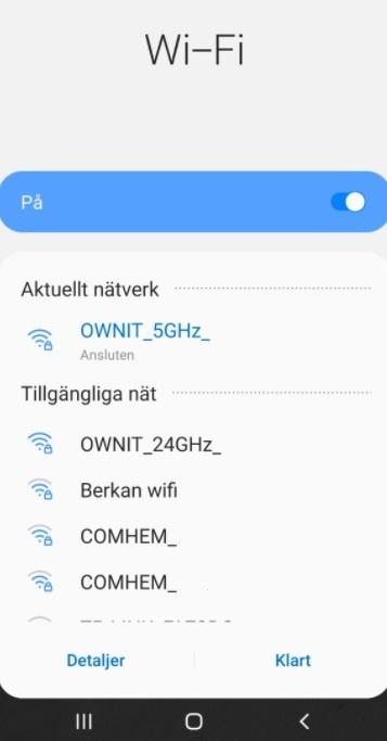 Hur ansluter jag till wifi?